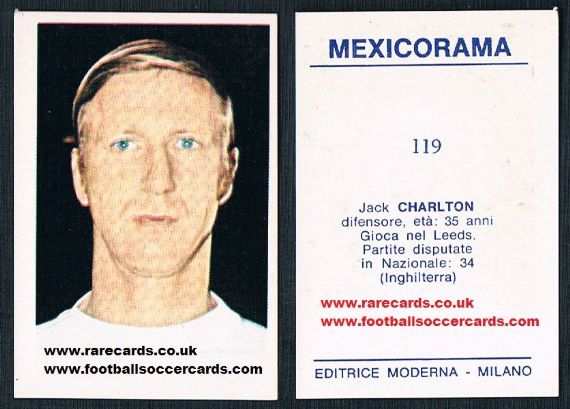 1970 Mexicorama 119 J Charlton